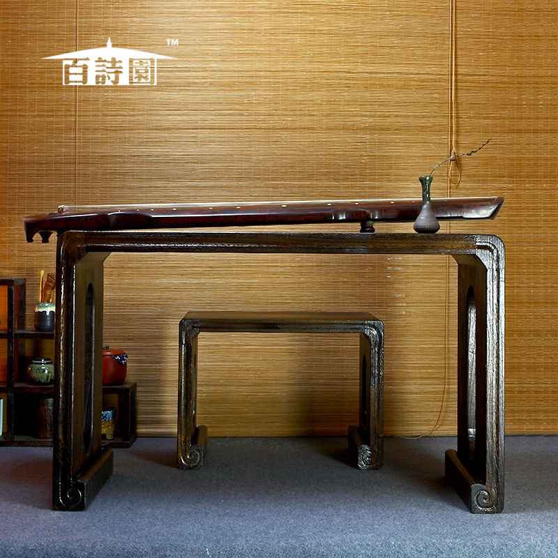 Paulownia wood burning antique piano desk chairs and old Chinese Guqin  Paulownia professional desk one free shipping on Aliexpress.com | Alibaba  Group - Paulownia Wood Burning Antique Piano Desk Chairs And Old Chinese