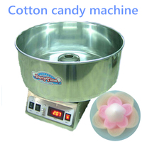 1pc Popular Commercial Cotton Candy Floss Full Electric Candy Cotton Machine CC 3803H