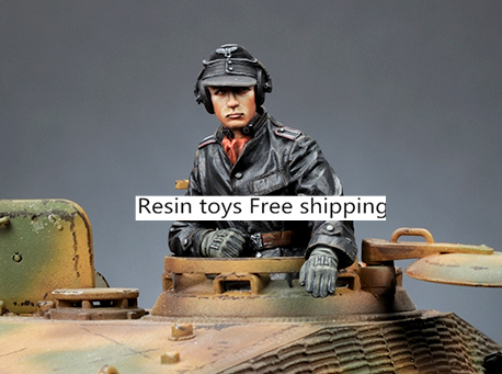 pre order-Resin toys 35173 SS Panzer Commander #2 Free shipping pre order resin toys l0017 us soldier at rest 2 vietnam free shipping