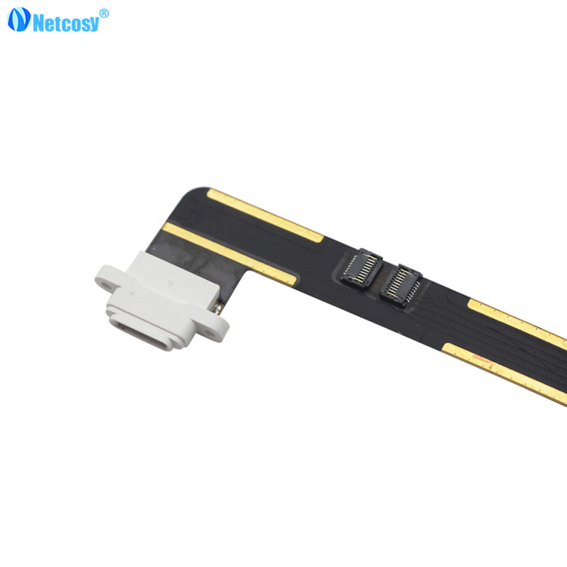 Netcosy Charging Port Dock Connector Flex Cable USB Port for iPad Air for iPad 5 Replacement Repair Parts