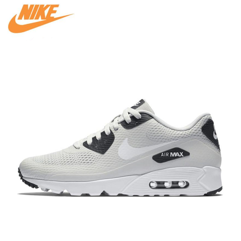 Nike Original New Arrival Authentic AIR MAX 90 ULTRA Men's Breathable Running Shoes Sports Sneakers 819474-002 original new arrival authentic nike air max 90 ultra 2 0 flyknit men s running shoes breathable lightweight non slip outdoor