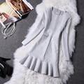 Autumn Winter Fashion Women Dress Long Sleeve Suede 2017 New Spring Elegant Casual bodycon Prom Party Dress Slim vestidos WQ003