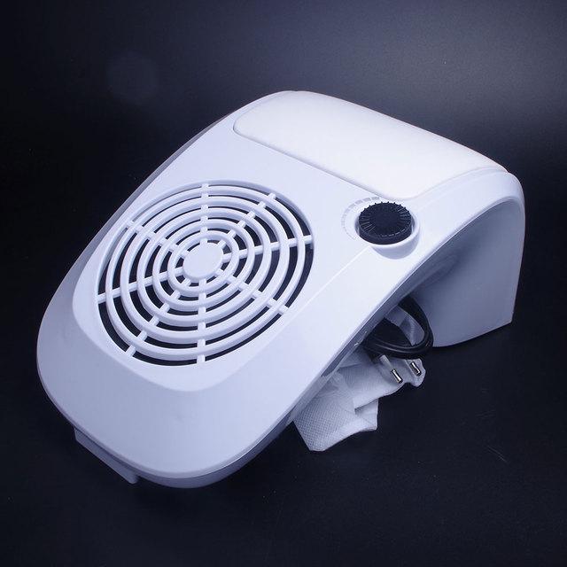 Forte Da Arte Do Prego Coletor de pó 40 W Velocidade Ajustável Máquina Da Arte Do Prego do Salão de beleza Do Prego Aspirador de pó para a Apresentação e Polimento
