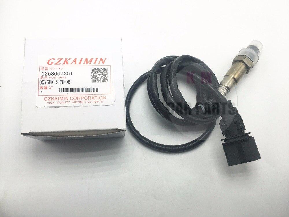 high quality Oxygen (O2) Sensor Lambda sensor 0258007351/0 258 007 351/0258007351/1K0998262D For Skoda forVW Jetta 1.8L-L4 99-05