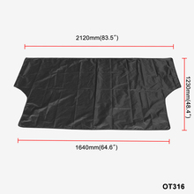 Car Windshield Cover Waterproof Summer Anti UV Sun 2120*1230mmDust Tarp Removable Covers for Truck SUV Auto Front Wind Shield