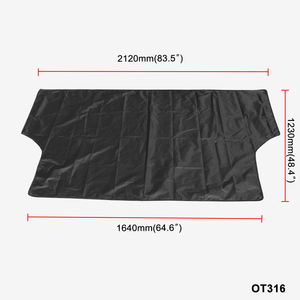 Image 1 - Car Windshield Cover Waterproof Summer Anti UV Sun 2120*1230mmDust Tarp Removable Covers for Truck SUV Auto Front Wind Shield