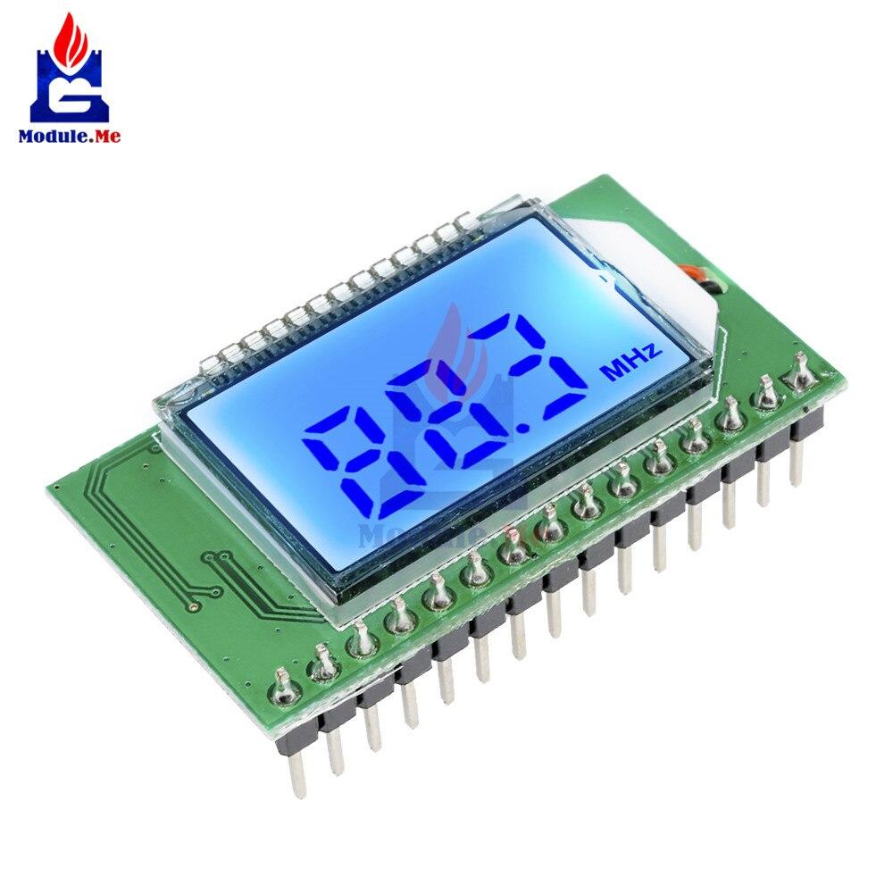 Module émetteur/récepteur Radio FM numérique PLL LCD 87-108 MHZ Microphone sans fil carte stéréo réduction du bruit numérique