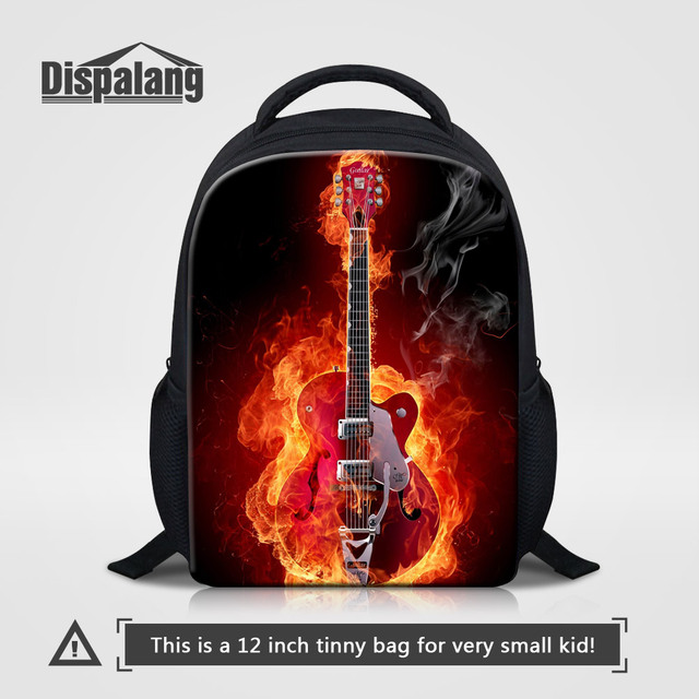 78ee9c02b5c5 Dispalang 12 Inch Children s School Bags High Quality Mini Toddler Backpack  Cool Music Violin Kindergarten Rucksack Kids Mochila