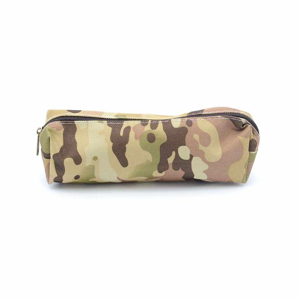 Estuche de lápiz de camuflaje bolsa organizadora para almacenamiento bolsa con cremallera estudiante de escuela