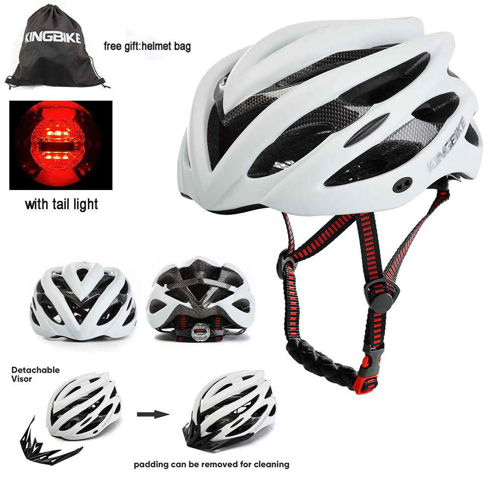 Casque De Vélo Us 18 57 38 Off Kingbike Helmet Bicycle Road Women Men Helmets Cycling Breathable Casque Velo Route Capacetes Ciclismo Prevail Helmet Road Bike In