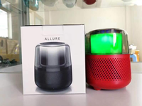 Allure Cute Bluetooth Speaker With 3 Different Colors Led Light Support Micro SD And Good Bass Big Sound