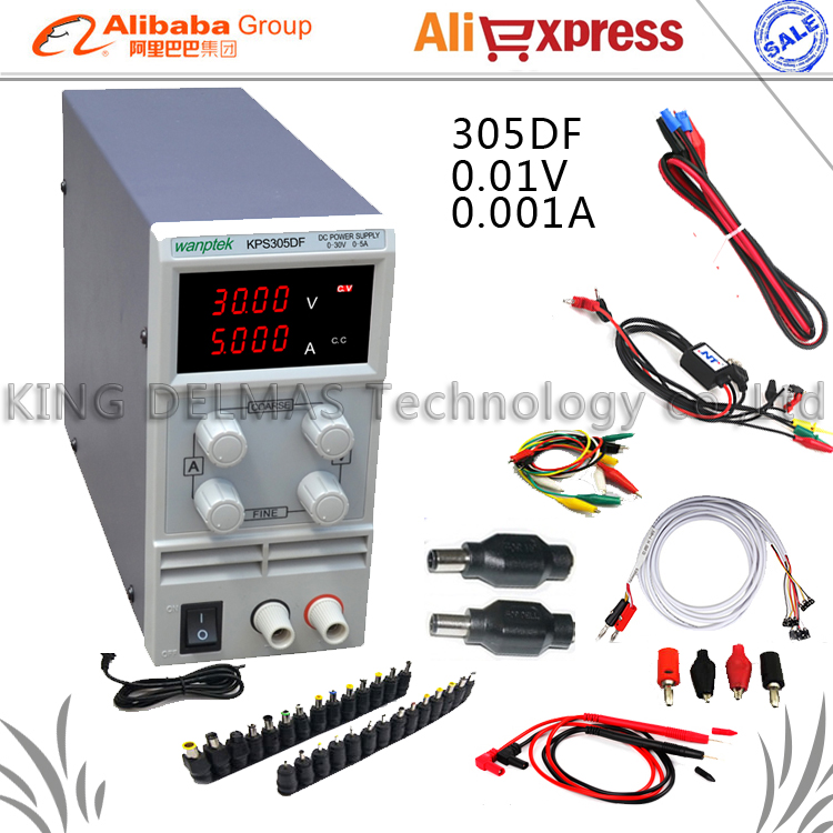 KPS-305DF  Adjustable LED Display Switching DC power supply 220V 0-30V/0-5A For Laboratory and teaching cps 6011 60v 11a digital adjustable dc power supply laboratory power supply cps6011