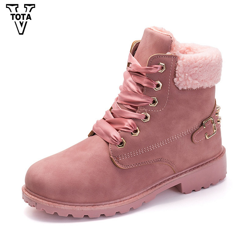 VTOTA Warm Boots Women Bota Feminina Winter Snow Boots Martin Boots Fur Shoes Woman Ankle Boots Soft Platform Women Shoes RX jupiter люстра jupiter oslo 1236 os 3 ch