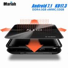 R-ТВ коробка S10 S912 Android 7.1 Умные телевизоры коробка Восьмиядерный BT 4.1 Коди 17.3 DDR4 3 ГБ 32 ГБ 4 К WI-FI Gigabit LAN ota обновления АПК протокол