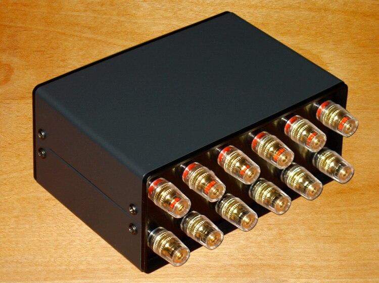 Tüketici Elektroniği'ten Amplifikatör'de Amplifikatör/hoparlör 1 ila 2/2 1 1 giriş 2 çıkış/2 giriş 1 çıkış ses sinyal Switcher anahtarı seçici HiFi hoparlör seçici