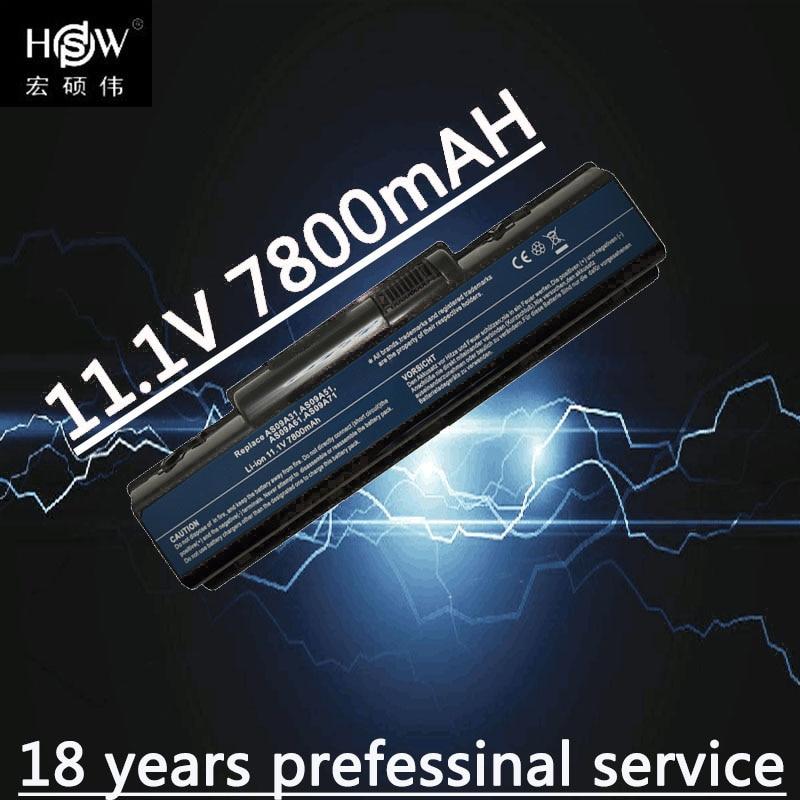 A HSW 9 células Bateria AS09A31 AS09A41 AS09A51 AS09A61 AS09A71 para Acer Aspire 4732 4937 laptop Emachine 4732Z D525 D725 Bateria