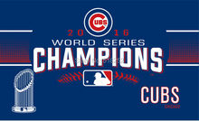 2016 world series champions Chicago Cubs Flag 3×5 FT 150X90CM MLB Banner 100D Polyester Custom flag603, free shipping