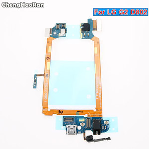Image 1 - ChengHaoRan For LG G2 D802 D805 VS980 USB Charging Dock Connector Port Flex Cable+Microphone Headphone Jack Power on/off Button