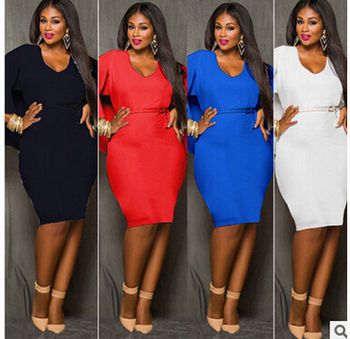 Fashion new arrival fashion solid color cloak sexy slim hip racerback plus size one-piece ZETA PHI BETA DST Sorority dress