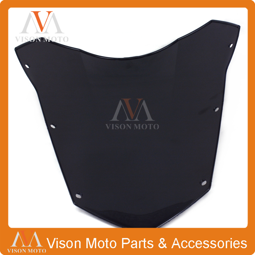 Motorcycle Winshield windscreen For YAMAHA FZ6 FZ-6 FZ 6 2003 2004 2005 2006 2007 2008 03 04 05 06 07 08 zero gravity sr series windscreen for 2006 2009 yamaha fz1