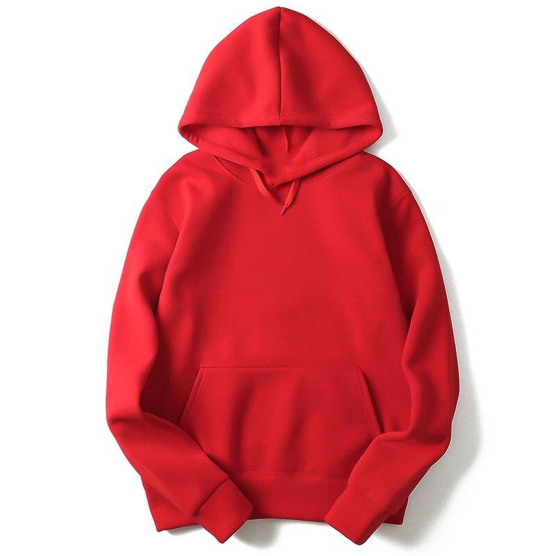 2018 alta calidad nuevo rosa/negro/gris/rojo Sudadera con capucha Hip Hop Street sudadera Skate hombre/mujer pulóver Sudadera con capucha para hombre M-XXL