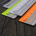 With the scale ruler mapping measurement of office stationery 15cm/20cm/30cm stainless steel ruler steel cutting ruler