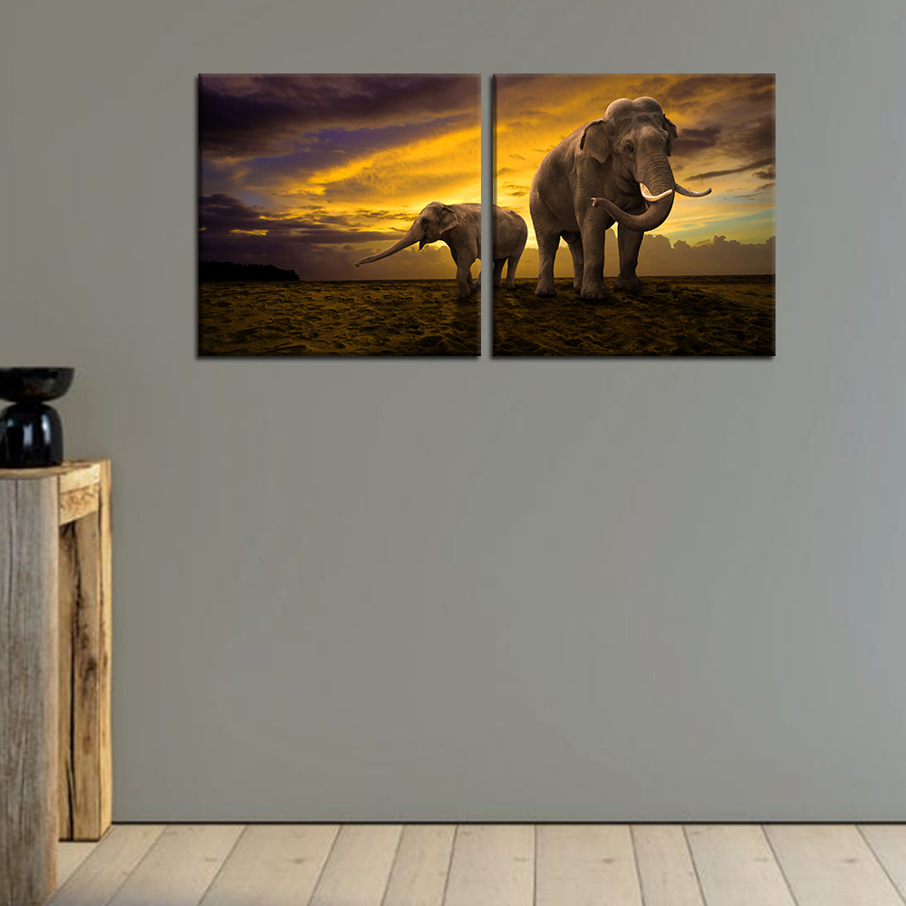 Wall Decor Elephants