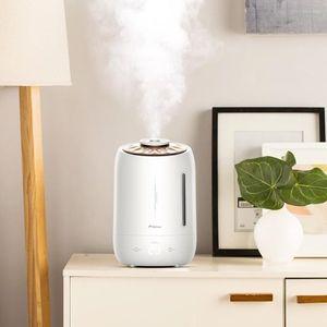 Image 4 - Deerma 5L ev ultrasonik nemlendirici dokunmatik sürümü hava temizleme için klimalı odalar ofis ev D5