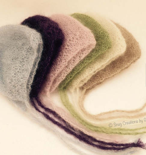 Mohair hat The newborn photography props