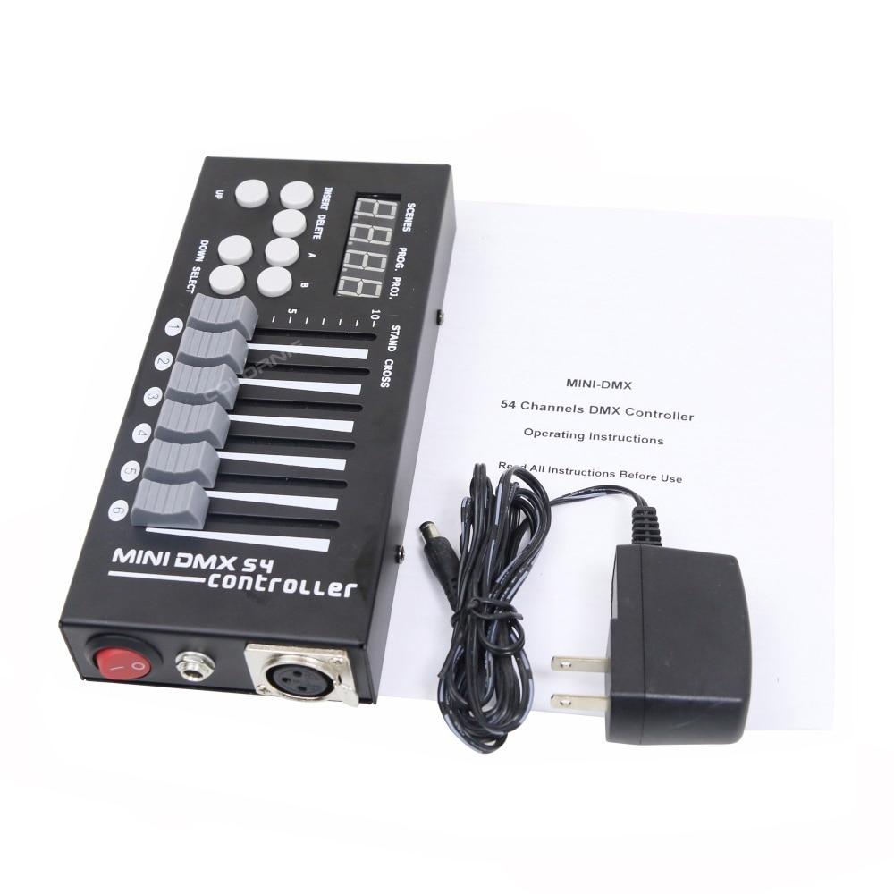 Mini 54CH DMX Controller Konsol LED Tahap Pencahayaan DJ Controller - Pencahayaan komersial - Foto 5