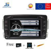 JDASTON HD 1080 P 2 Din радио автомобиль Mercedes Benz CLK W209 W203 W168 W208 W463 W170 Vaneo Viano vito Автомобильный мультимедийный dvd плеер