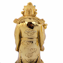 Feng Shui Golden Fu Lu Shou For Wealth Health Luck