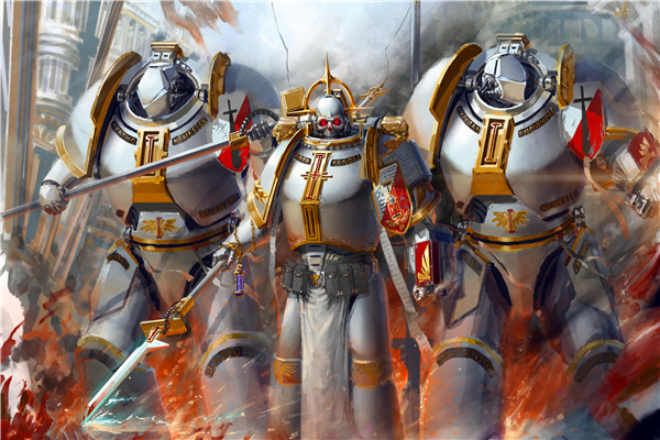 custom canvas painting warhammer 40k poster warhammer 40000 game