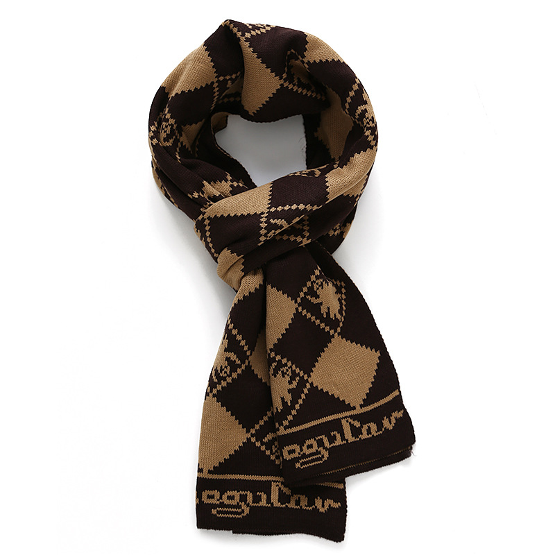 NEW Arrival Men fashion Casual font b tartan b font scarves plaid design Male Scarf Fall