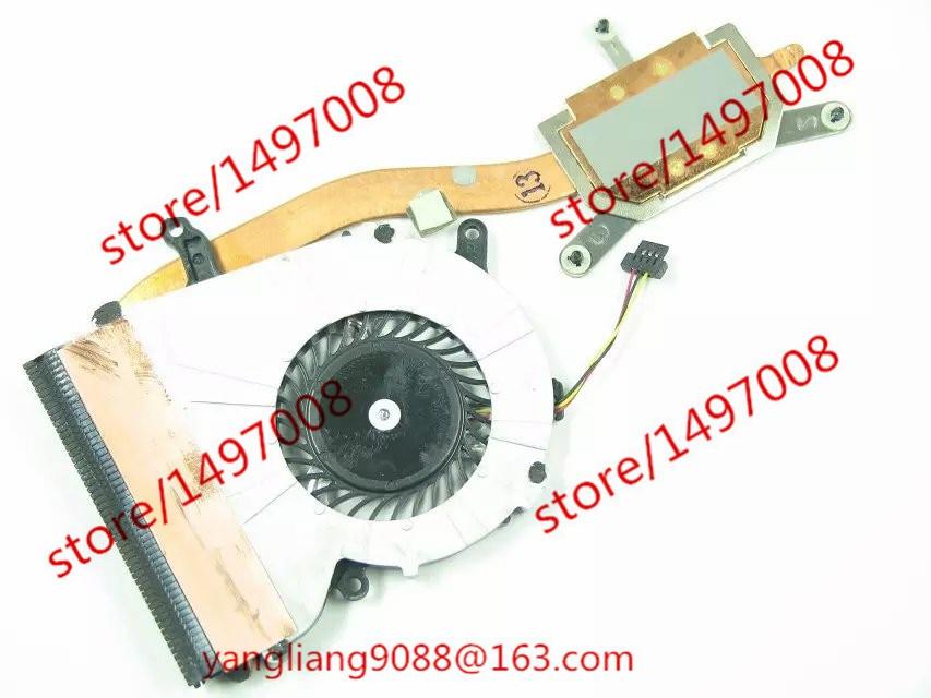 цена на Free Shipping Emacro New UDQFRSH01CQU 3FF11TMN000 VAIO FIT13A SVF13 F13 SVF13N DC 5V 0.22A  3-wire connector Heatsink fan