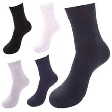 1pair 10pair Hot Mens Short Bamboo Fiber Middle Summer Autumn Business Socks Stockings drop shipping