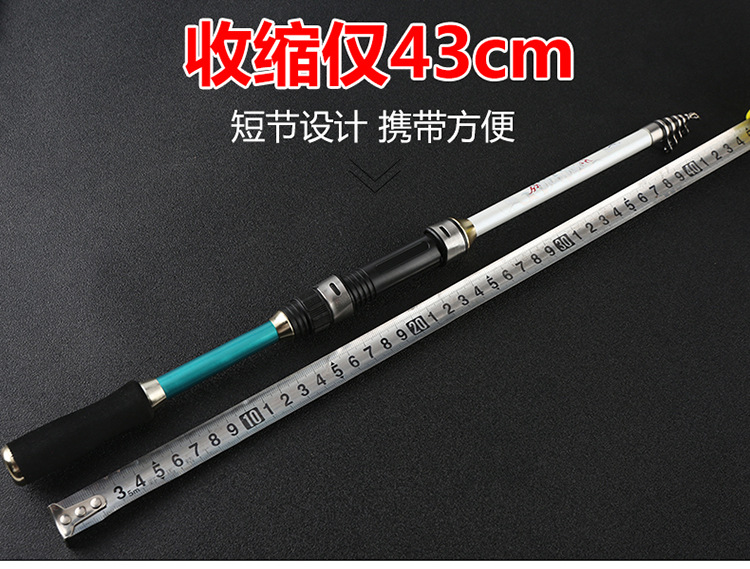 Image 4 - 2019 new design short hard 1.8 3.6M spinning rock fishing rod ultralight protable carbon travel rod for seafshing pesca pole-in Fishing Rods from Sports & Entertainment