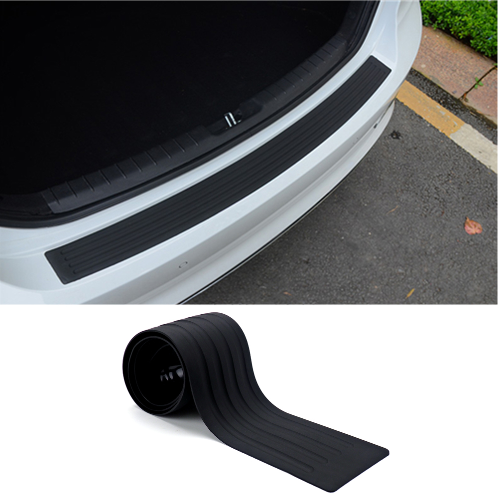 104cm Car Trunk Rear Bumper Door Protection Cover Strip Scratch Plate ...