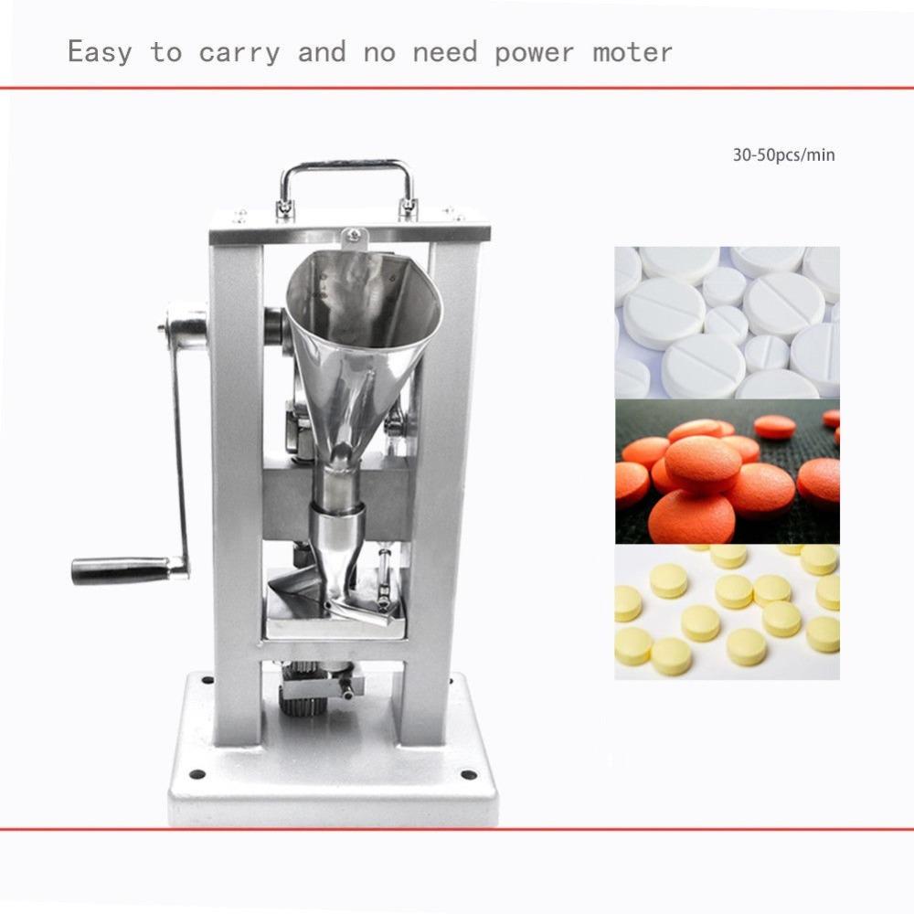 New TDP-0 Hand Operated Pill Press Machine Tablet Press Pill Making Machine US EU Stock 1pc hand operated oil press machine for family