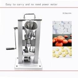 TDP-0 Tablet Druk Handbediende Pil Making Machine Mini Pil Persmachine EU Voorraad