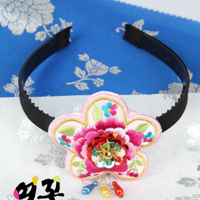 girls hanbok korean traditional dress accessories korean costumes accessories hanbok Hair band Embroidery Korean hairpins-in Asia u0026 Pacific Islands Clothing ... : costumes accessories  - Germanpascual.Com