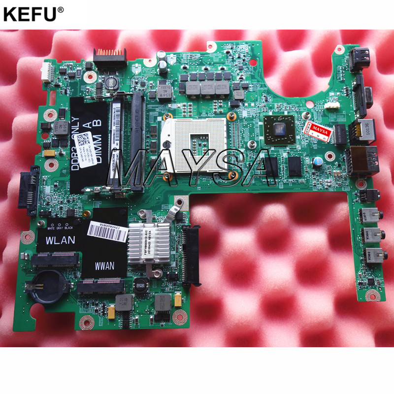 4DKNR CN-04DKNR DAFM9CMB8C0 Main board Fit FOR DELL studio 1558 Laptop motherboard DDR3 with graphics card chips laptop motherboard for dell studio xps 1640 pp35l hd3670 graphics cn 0p743d da0rm2mbah0 mother board mainboard