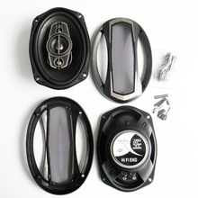 6X9 inch Car Audio Coaxial Speaker 1 pair  Music Auto Vehicle Power 1200watts 4 ohm Louder Acoustic Speakers