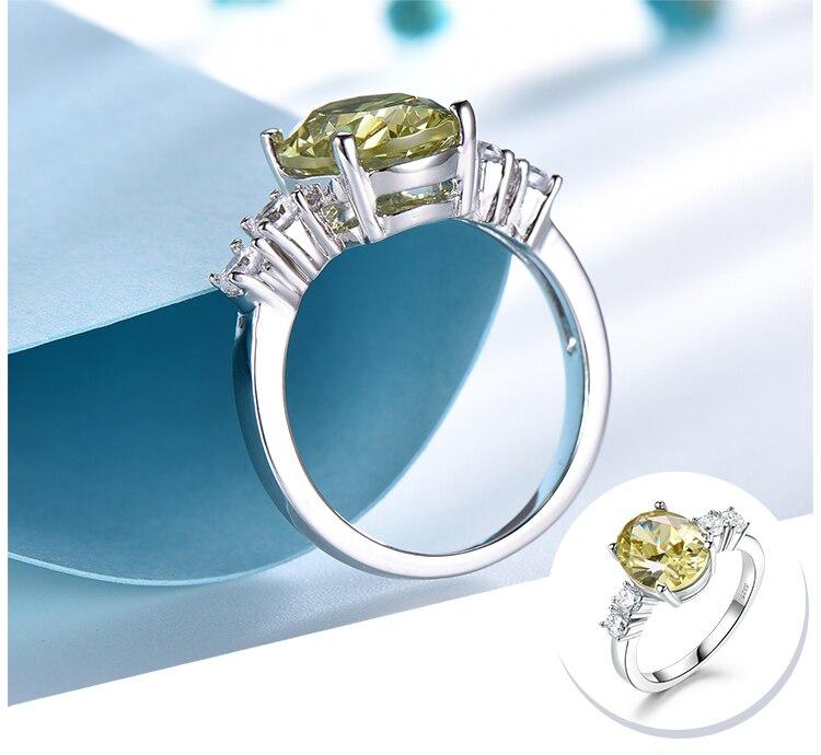 Honyy Apple Green 925 sterling silver earring for women RUJ093Z-1-app (4)