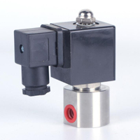 DN08 normally closed high pressure gas solenoid valve, stainless steel corrosion resistant, G1/4 methanol burner special valves