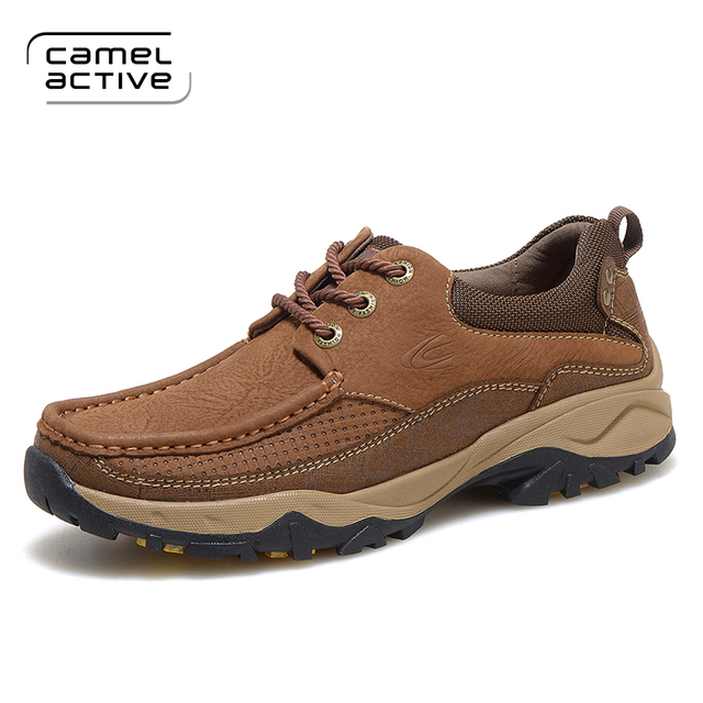 Camel Active 2017 Man Waterproof Breathable Hiking Shoes Big Size Outdoor  Boots Black Trekking Sport Sneakers