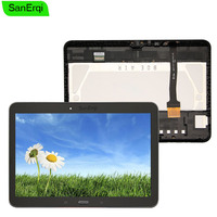 SanErqi 10.1 For Samsung Galaxy Tab 4 T530 T531 T535 LCD display touch screen Panel digitizer assembly with Frame free tools