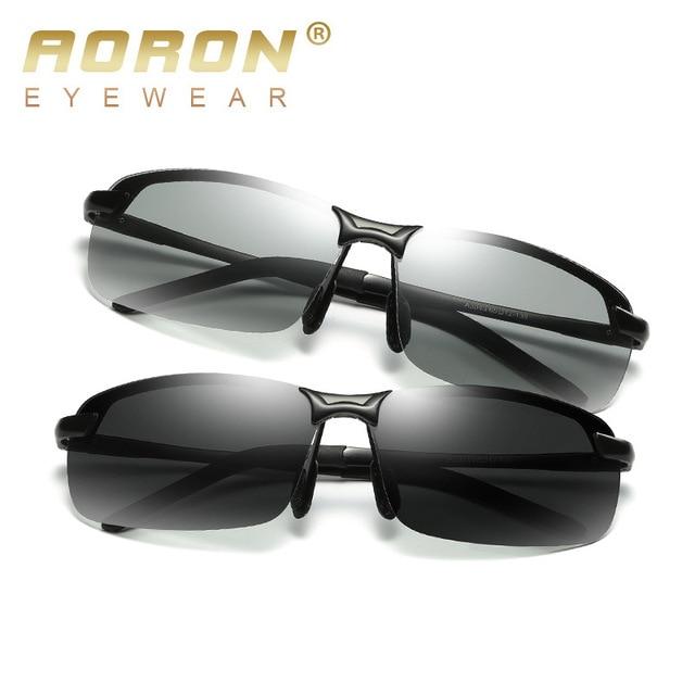 9849b450998b1 Função Photochromic Lente Polarizada Óculos De Sol Dos Homens 2017 Marca de alta  Qualidade óculos de