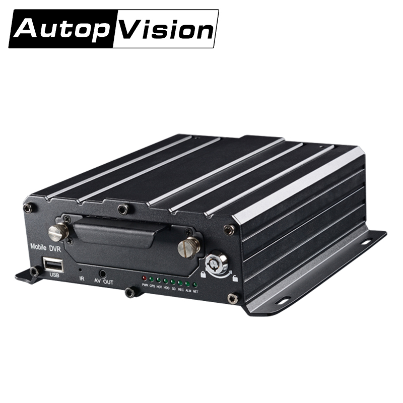MDR7104 720P HD 4CH HDD Mobile Mobile DVR Black Box English/Chinese/Customized Voice Call Serial Expand Connect PTZ Camera корпус для hdd orico 9528u3 2 3 5 ii iii hdd hd 20 usb3 0 5
