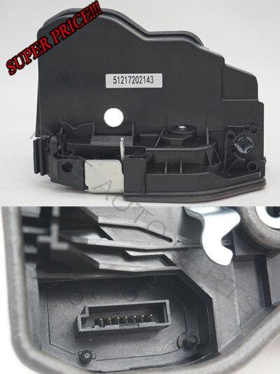 Fcw power elétrica fechadura da porta trava atuador para bmw x6 e60 e70 e90 oem 51217202143 51217202146 51227202147 51227202148